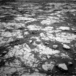 Nasa's Mars rover Curiosity acquired this image using its Left Navigation Camera on Sol 2797, at drive 2148, site number 80