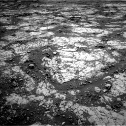 Nasa's Mars rover Curiosity acquired this image using its Left Navigation Camera on Sol 2797, at drive 2160, site number 80