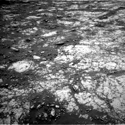 Nasa's Mars rover Curiosity acquired this image using its Left Navigation Camera on Sol 2797, at drive 2208, site number 80