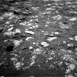 Nasa's Mars rover Curiosity acquired this image using its Left Navigation Camera on Sol 2797, at drive 2226, site number 80