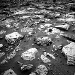 Nasa's Mars rover Curiosity acquired this image using its Left Navigation Camera on Sol 2797, at drive 2292, site number 80