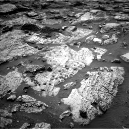 Nasa's Mars rover Curiosity acquired this image using its Left Navigation Camera on Sol 2797, at drive 2316, site number 80