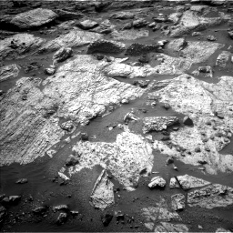 Nasa's Mars rover Curiosity acquired this image using its Left Navigation Camera on Sol 2797, at drive 2328, site number 80