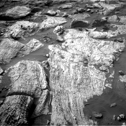 Nasa's Mars rover Curiosity acquired this image using its Left Navigation Camera on Sol 2797, at drive 2358, site number 80