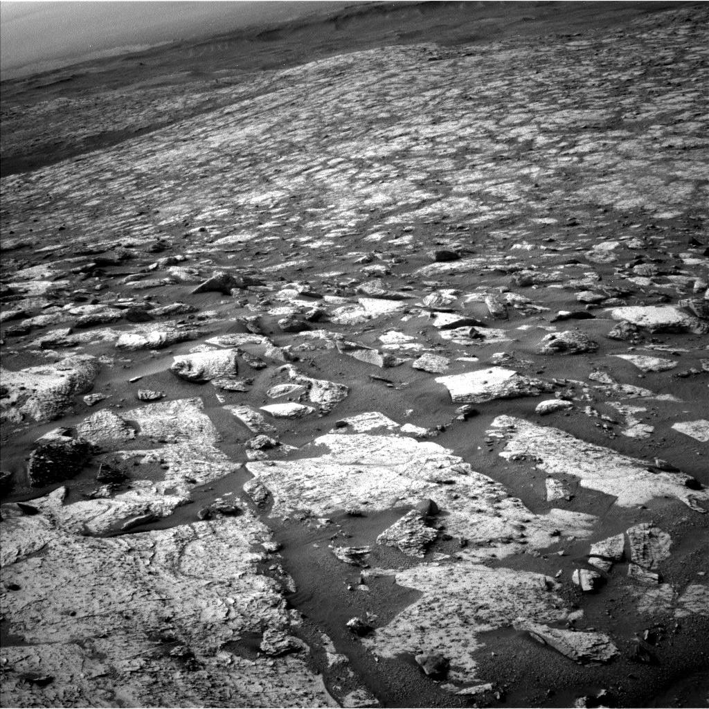 Nasa's Mars rover Curiosity acquired this image using its Left Navigation Camera on Sol 2797, at drive 2388, site number 80
