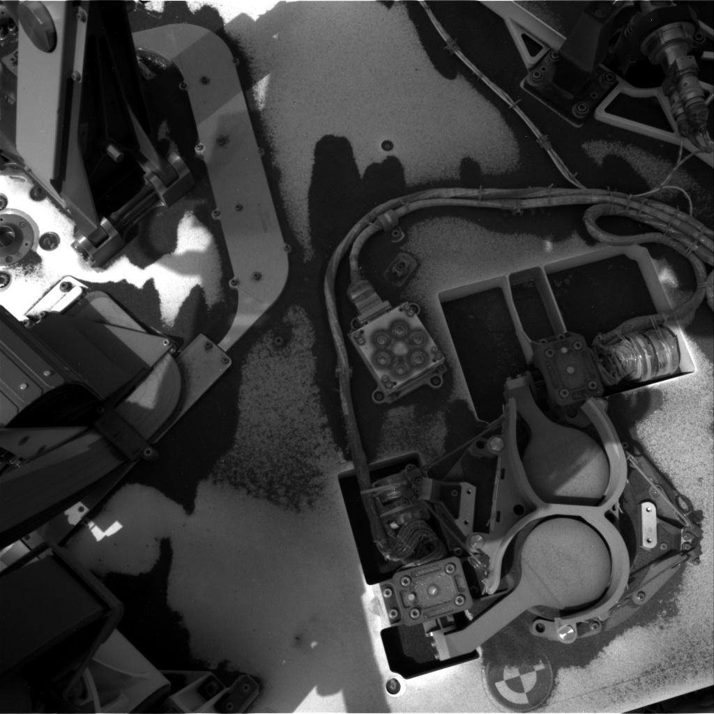 Nasa's Mars rover Curiosity acquired this image using its Right Navigation Camera on Sol 2797, at drive 2136, site number 80