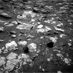 Nasa's Mars rover Curiosity acquired this image using its Right Navigation Camera on Sol 2797, at drive 2238, site number 80
