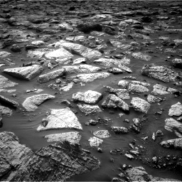Nasa's Mars rover Curiosity acquired this image using its Right Navigation Camera on Sol 2797, at drive 2274, site number 80