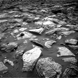 Nasa's Mars rover Curiosity acquired this image using its Right Navigation Camera on Sol 2797, at drive 2286, site number 80