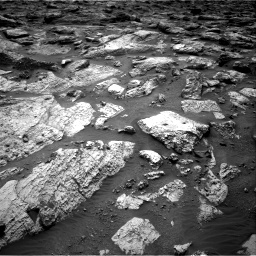 Nasa's Mars rover Curiosity acquired this image using its Right Navigation Camera on Sol 2797, at drive 2310, site number 80