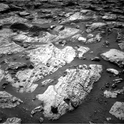 Nasa's Mars rover Curiosity acquired this image using its Right Navigation Camera on Sol 2797, at drive 2316, site number 80