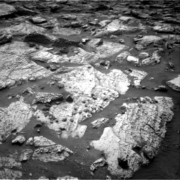 Nasa's Mars rover Curiosity acquired this image using its Right Navigation Camera on Sol 2797, at drive 2322, site number 80