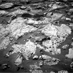 Nasa's Mars rover Curiosity acquired this image using its Right Navigation Camera on Sol 2797, at drive 2328, site number 80