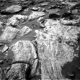 Nasa's Mars rover Curiosity acquired this image using its Right Navigation Camera on Sol 2797, at drive 2364, site number 80