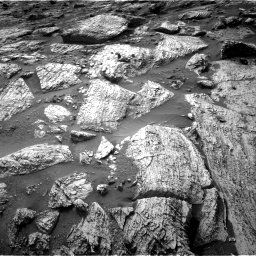 Nasa's Mars rover Curiosity acquired this image using its Right Navigation Camera on Sol 2797, at drive 2370, site number 80