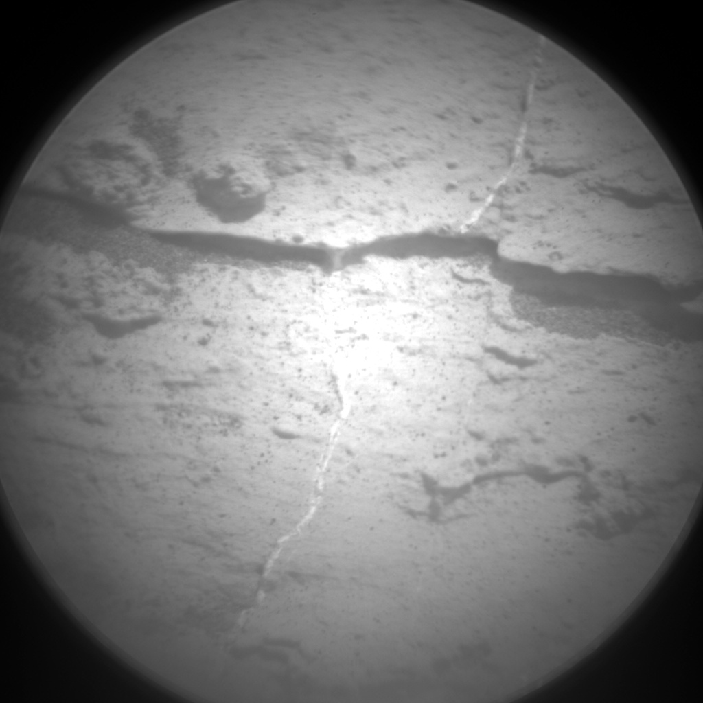 Nasa's Mars rover Curiosity acquired this image using its Chemistry & Camera (ChemCam) on Sol 2798, at drive 2388, site number 80