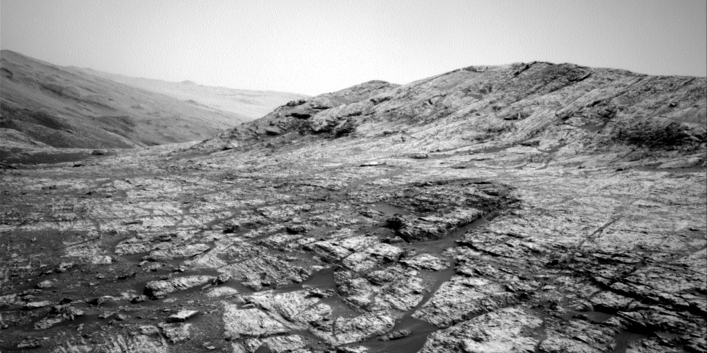 Nasa's Mars rover Curiosity acquired this image using its Right Navigation Camera on Sol 2799, at drive 2388, site number 80