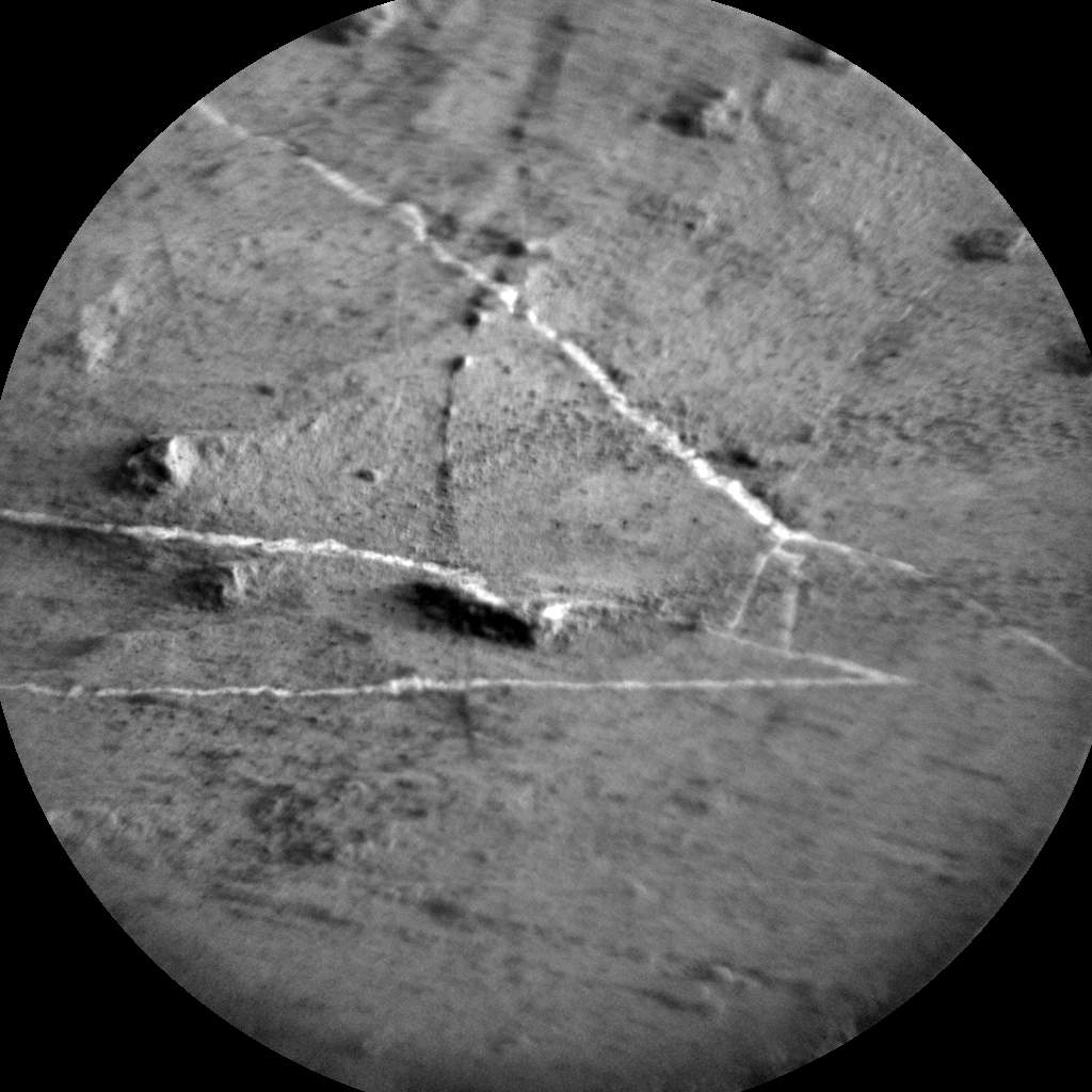 Nasa's Mars rover Curiosity acquired this image using its Chemistry & Camera (ChemCam) on Sol 2799, at drive 2388, site number 80