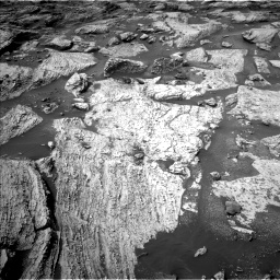 Nasa's Mars rover Curiosity acquired this image using its Left Navigation Camera on Sol 2800, at drive 2406, site number 80