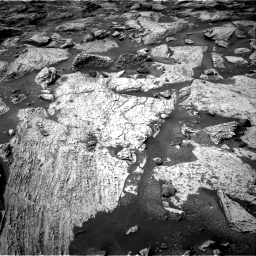 Nasa's Mars rover Curiosity acquired this image using its Right Navigation Camera on Sol 2800, at drive 2406, site number 80
