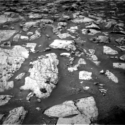 Nasa's Mars rover Curiosity acquired this image using its Right Navigation Camera on Sol 2800, at drive 2424, site number 80