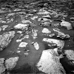 Nasa's Mars rover Curiosity acquired this image using its Right Navigation Camera on Sol 2800, at drive 2442, site number 80