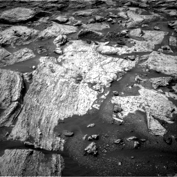 Nasa's Mars rover Curiosity acquired this image using its Right Navigation Camera on Sol 2800, at drive 2488, site number 80
