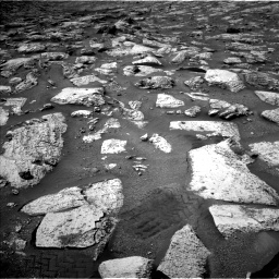 Nasa's Mars rover Curiosity acquired this image using its Left Navigation Camera on Sol 2802, at drive 30, site number 81