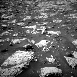 Nasa's Mars rover Curiosity acquired this image using its Left Navigation Camera on Sol 2802, at drive 84, site number 81