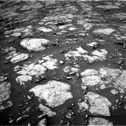 Nasa's Mars rover Curiosity acquired this image using its Left Navigation Camera on Sol 2802, at drive 114, site number 81