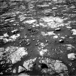 Nasa's Mars rover Curiosity acquired this image using its Left Navigation Camera on Sol 2802, at drive 126, site number 81