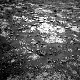 Nasa's Mars rover Curiosity acquired this image using its Left Navigation Camera on Sol 2802, at drive 186, site number 81