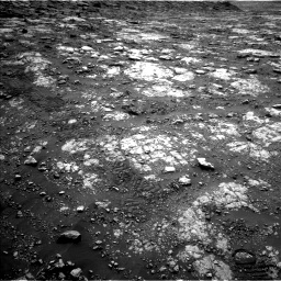 Nasa's Mars rover Curiosity acquired this image using its Left Navigation Camera on Sol 2802, at drive 198, site number 81