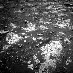 Nasa's Mars rover Curiosity acquired this image using its Left Navigation Camera on Sol 2802, at drive 234, site number 81
