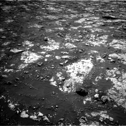 Nasa's Mars rover Curiosity acquired this image using its Left Navigation Camera on Sol 2802, at drive 240, site number 81
