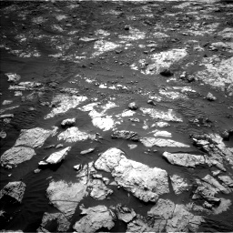 Nasa's Mars rover Curiosity acquired this image using its Left Navigation Camera on Sol 2802, at drive 264, site number 81
