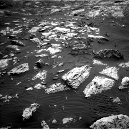 Nasa's Mars rover Curiosity acquired this image using its Left Navigation Camera on Sol 2802, at drive 288, site number 81