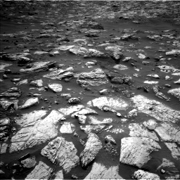 Nasa's Mars rover Curiosity acquired this image using its Left Navigation Camera on Sol 2802, at drive 354, site number 81