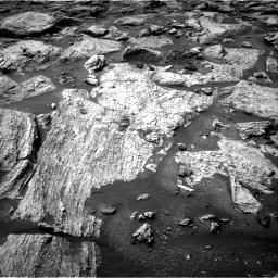 Nasa's Mars rover Curiosity acquired this image using its Right Navigation Camera on Sol 2802, at drive 0, site number 81