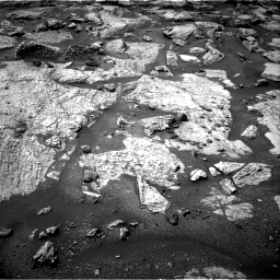 Nasa's Mars rover Curiosity acquired this image using its Right Navigation Camera on Sol 2802, at drive 6, site number 81