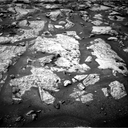 Nasa's Mars rover Curiosity acquired this image using its Right Navigation Camera on Sol 2802, at drive 12, site number 81