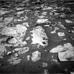 Nasa's Mars rover Curiosity acquired this image using its Right Navigation Camera on Sol 2802, at drive 18, site number 81