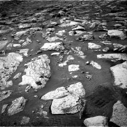 Nasa's Mars rover Curiosity acquired this image using its Right Navigation Camera on Sol 2802, at drive 24, site number 81