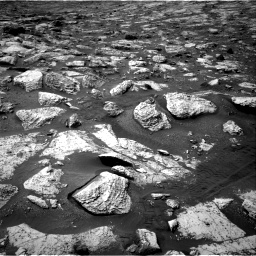 Nasa's Mars rover Curiosity acquired this image using its Right Navigation Camera on Sol 2802, at drive 48, site number 81