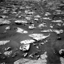 Nasa's Mars rover Curiosity acquired this image using its Right Navigation Camera on Sol 2802, at drive 66, site number 81