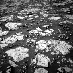Nasa's Mars rover Curiosity acquired this image using its Right Navigation Camera on Sol 2802, at drive 114, site number 81