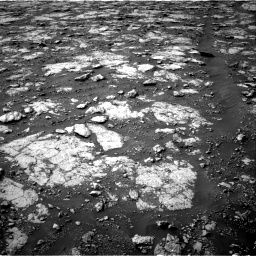 Nasa's Mars rover Curiosity acquired this image using its Right Navigation Camera on Sol 2802, at drive 156, site number 81