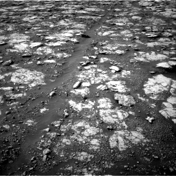 Nasa's Mars rover Curiosity acquired this image using its Right Navigation Camera on Sol 2802, at drive 168, site number 81