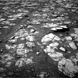 Nasa's Mars rover Curiosity acquired this image using its Right Navigation Camera on Sol 2802, at drive 174, site number 81