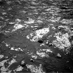 Nasa's Mars rover Curiosity acquired this image using its Right Navigation Camera on Sol 2802, at drive 252, site number 81